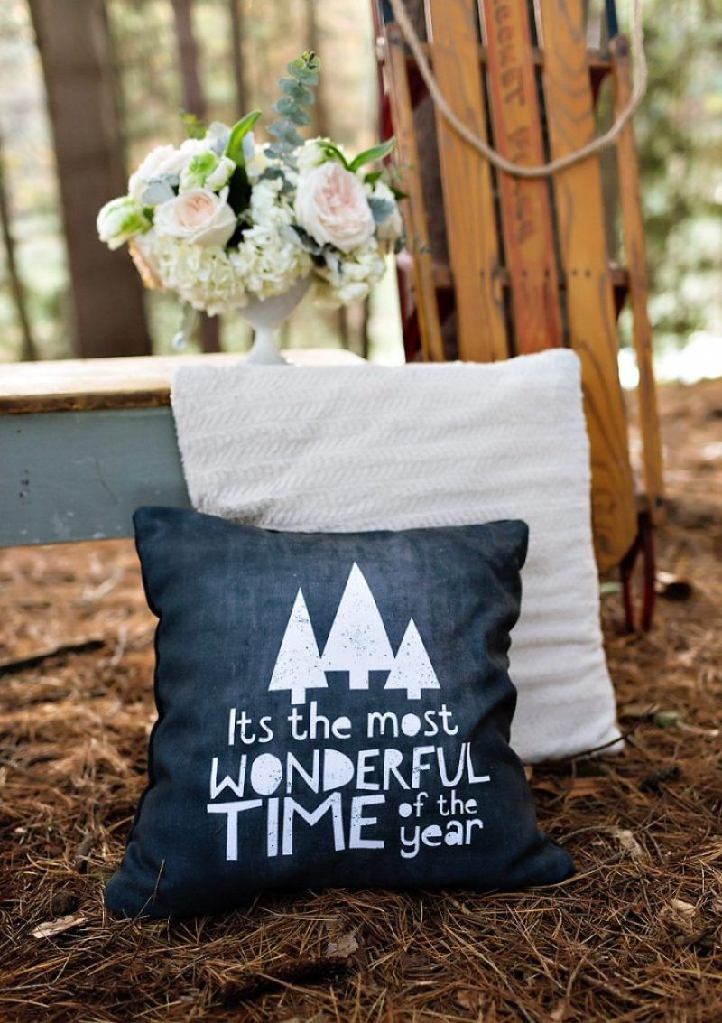 Most Wonderful Time of the Year Pillows