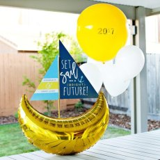 sailboat themed graduation party