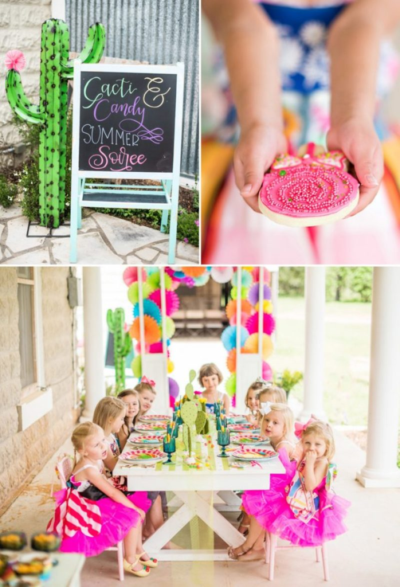 Candy and Cactus Party Theme