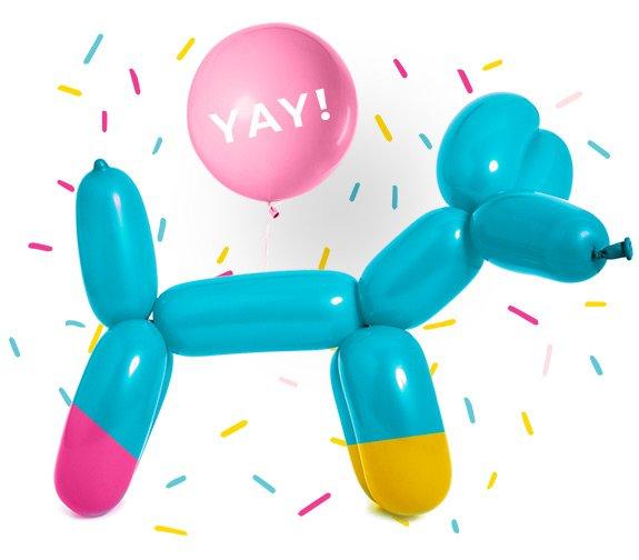 HWTM Balloon Dog YAY!