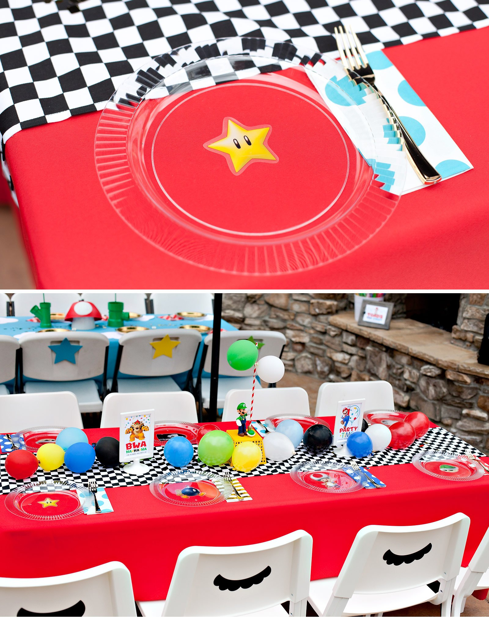 Super Mario Inspired Party Fun 12 Creative Ideas Part 1 Hostess With The Mostess
