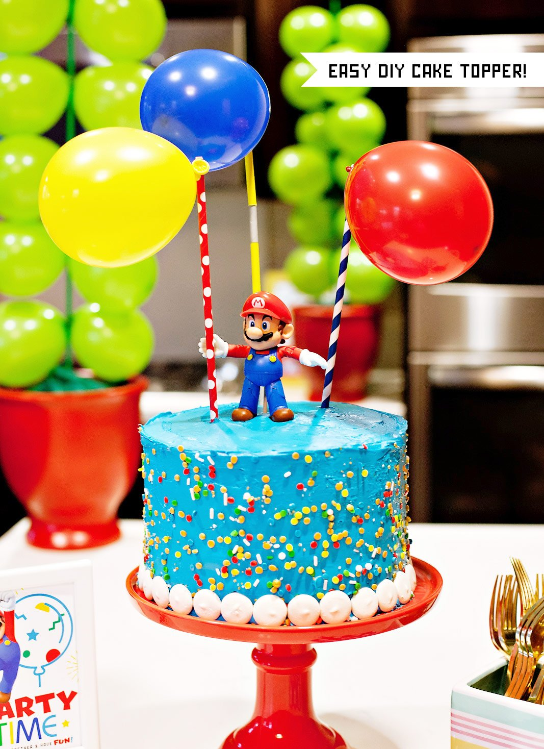 Super Mario Inspired Party Fun 12 Creative Ideas Part 2 Hostess With The Mostess