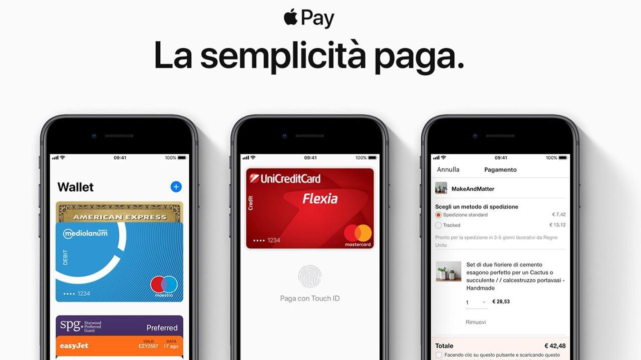 Apple Pay Da Oggi Funziona Anche Con Cartabcc Hype E Lapp