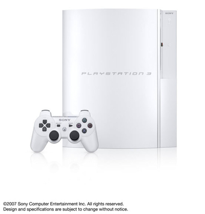 Sony PlayStation 3 Ceramic White