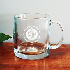 Winnipeg Jets 13oz. Personalized Coffee Mug