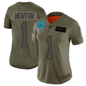 Nike Panthers #1 Cam Newton Camo Women's Stitched  wholesale Limit McDavid jersey