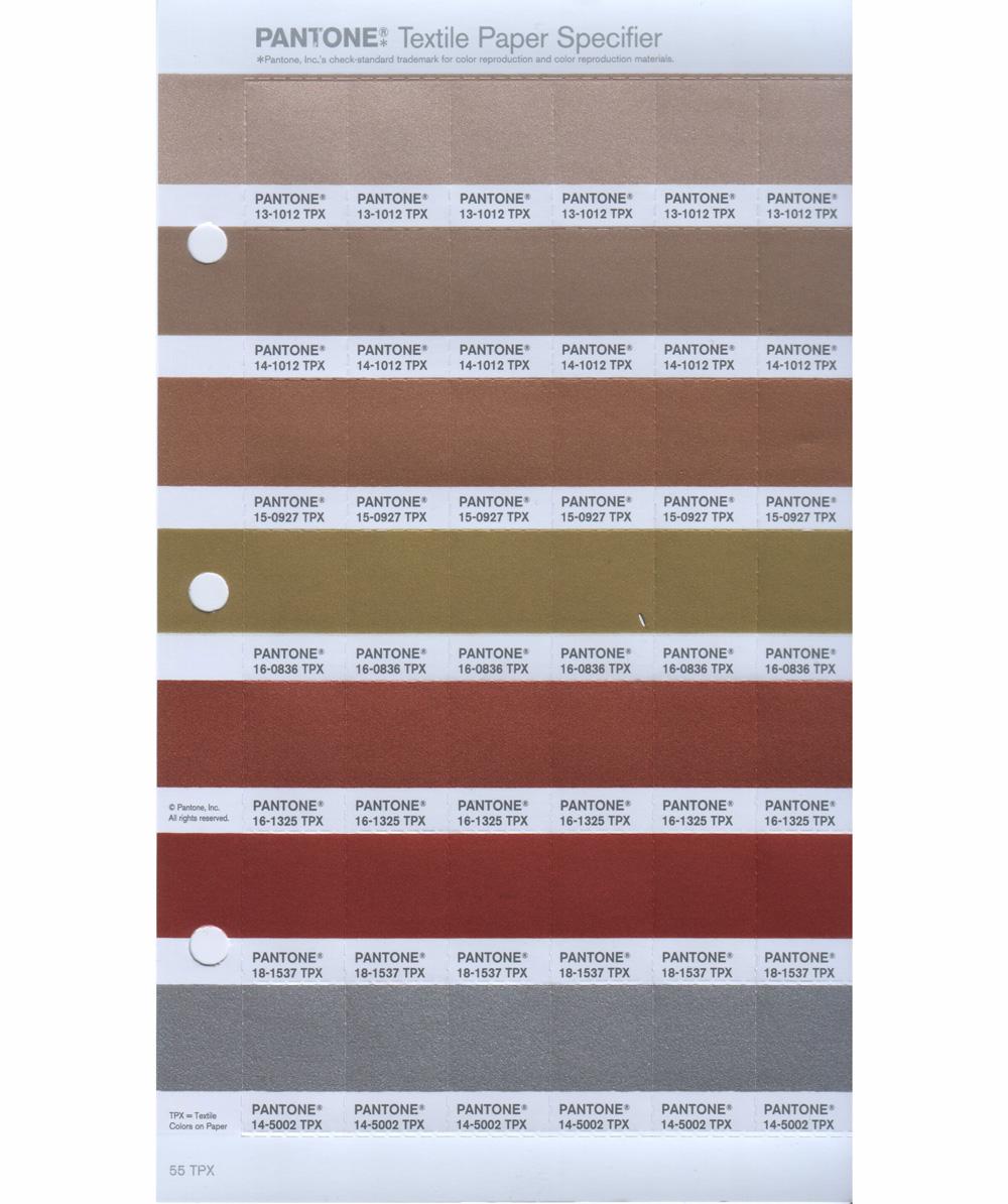 Sheet Metal Color Chart