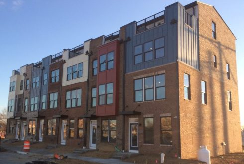 Hyattsville townhomes Ryan Homes East West Highway housing