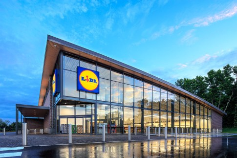 Lidl College Park grocery store chain German Route 1 Prince George's County Maryland