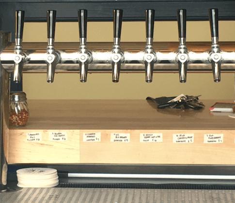 Pizzeria Paradiso Hyattsville beer taps microbrew