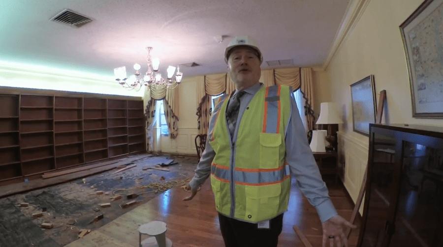 Hyattsville public library demolition