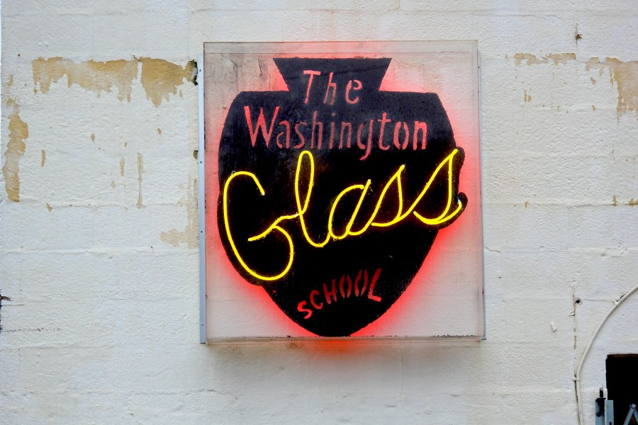 Washington Glass School warm glass studio D.C. Mount Rainier art