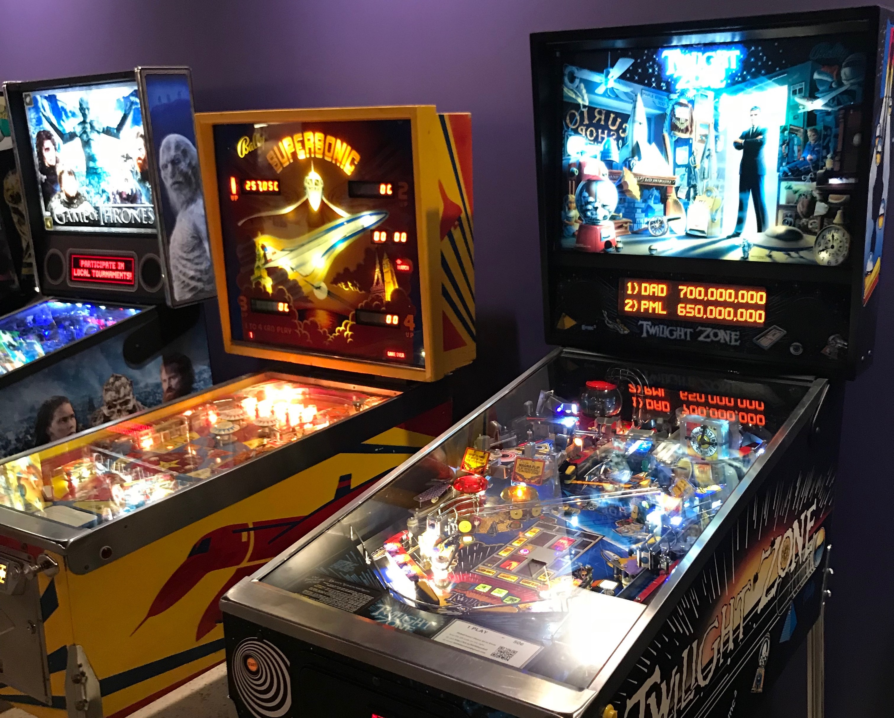 inside the new mom s organic pinball arcade
