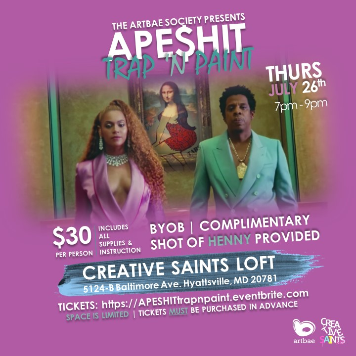 APE$HIT: Trap 'N Paint Experience -