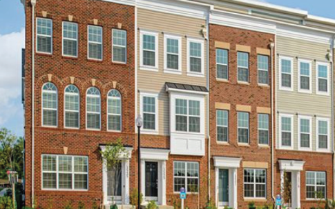 Metropolitan at College Park townhomes Maryland