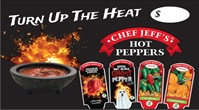hot peppers bench card