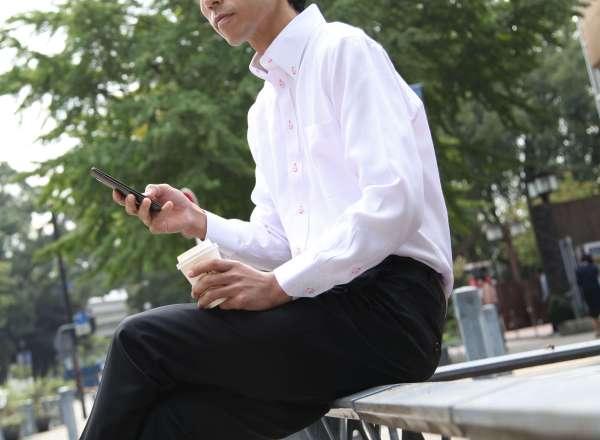 ワイシャツ スーツ 男性 クレリック