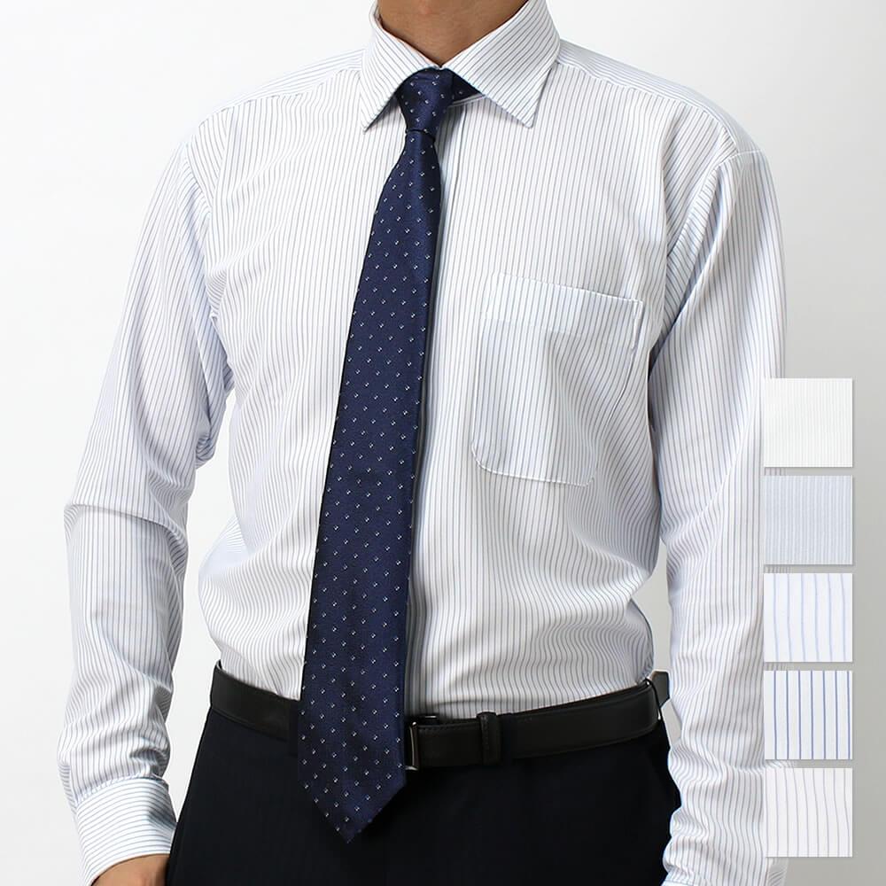 ニットシャツ ネイビー