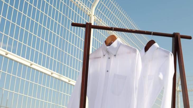 ワイシャツ 干し方