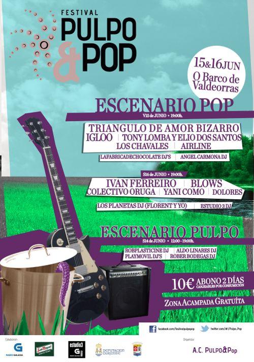 cartel pulpo pop 2012