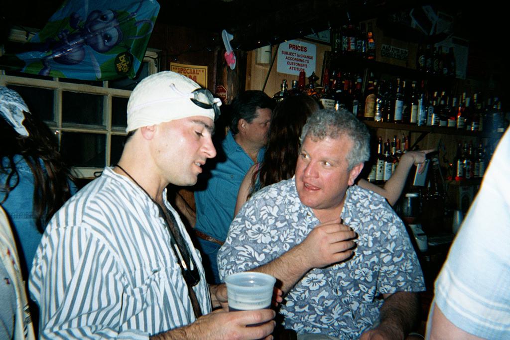 2001 Beach Party