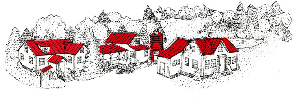 Hyde Away Inn Drawing