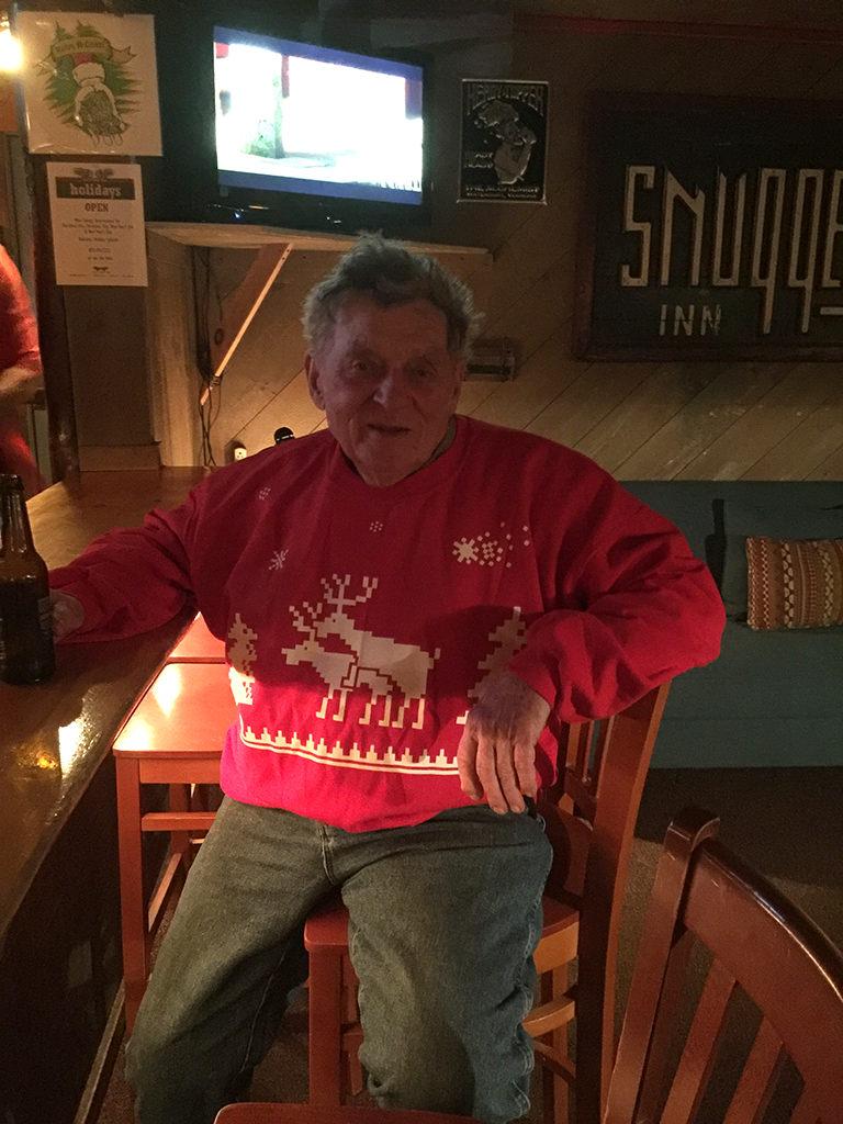 Tom Kerr & his Christmas Sweater