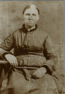 Sarah Dyche Hyde, wife of John Ansel Hyde.  Sarah and Rhoda were sisters.