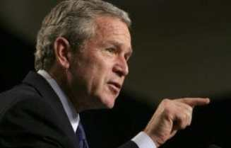 President George W. Bush, who created the PMI.