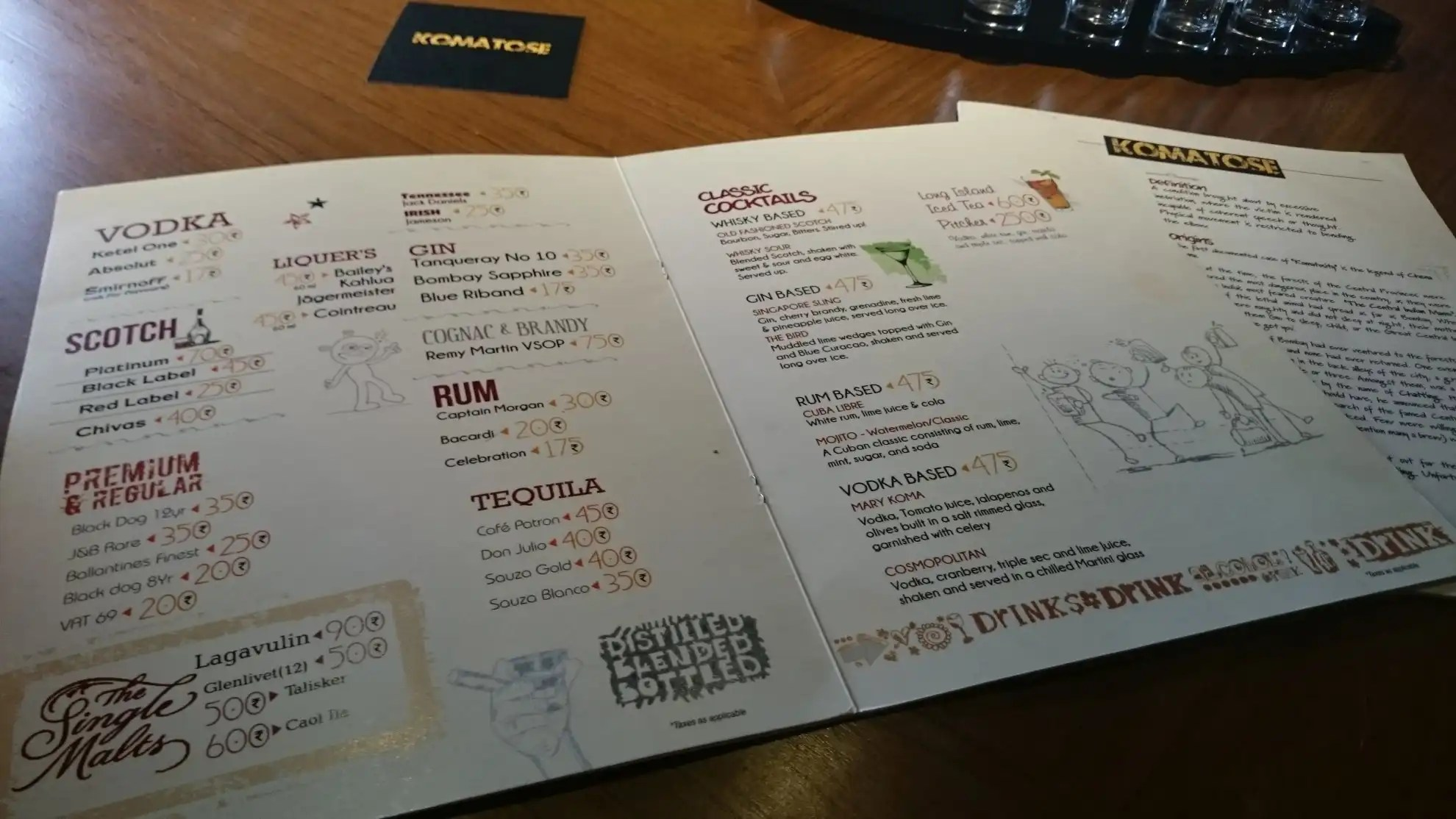 Continental Food Menu For Lunch