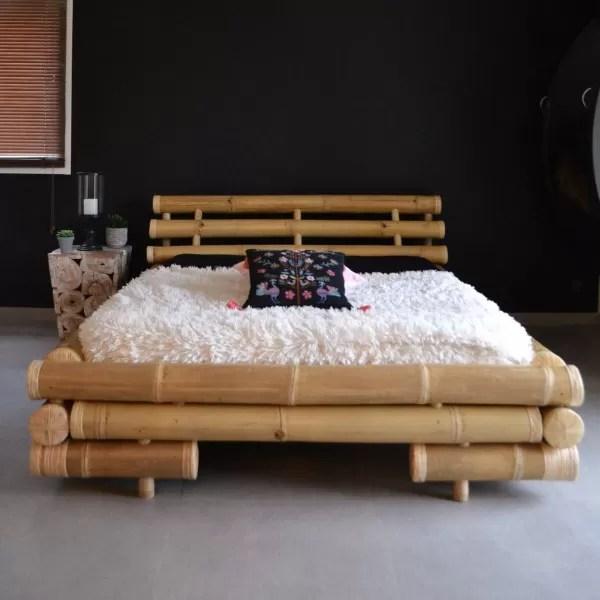 opal lit en bambou 160 200
