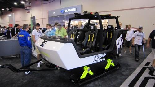 HYDLE - SEMA Ken Block Subaru on Trax Passenger Tow