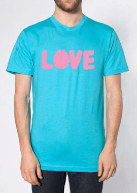 Love Your Brain - #loveyourbrain - Tee Shirt