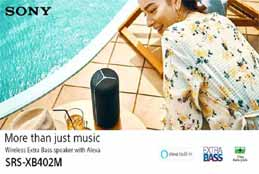 Sony Speakers With Alexa Built-In Now In India For Rs 24,990
