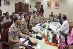 Home Minister Reviewed Ganesh Immersion Arrangements