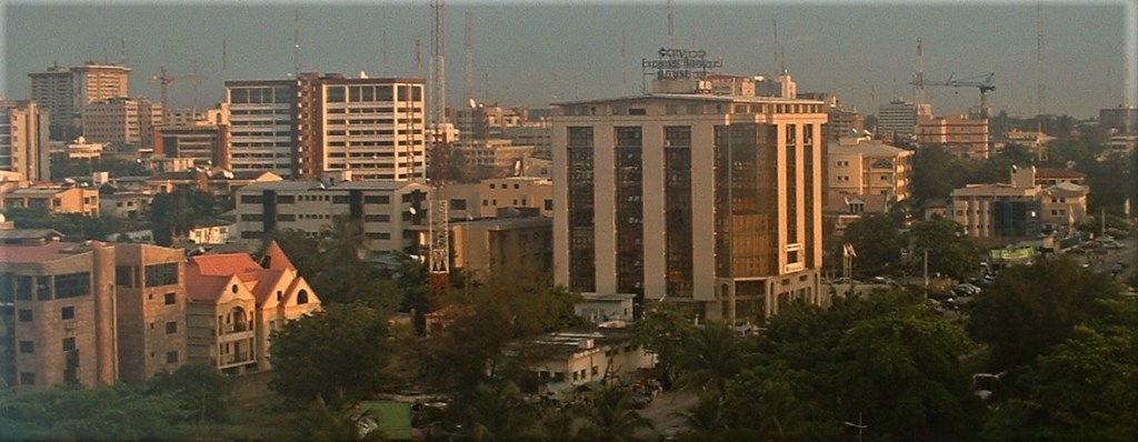 A view of Lagos City in 2006