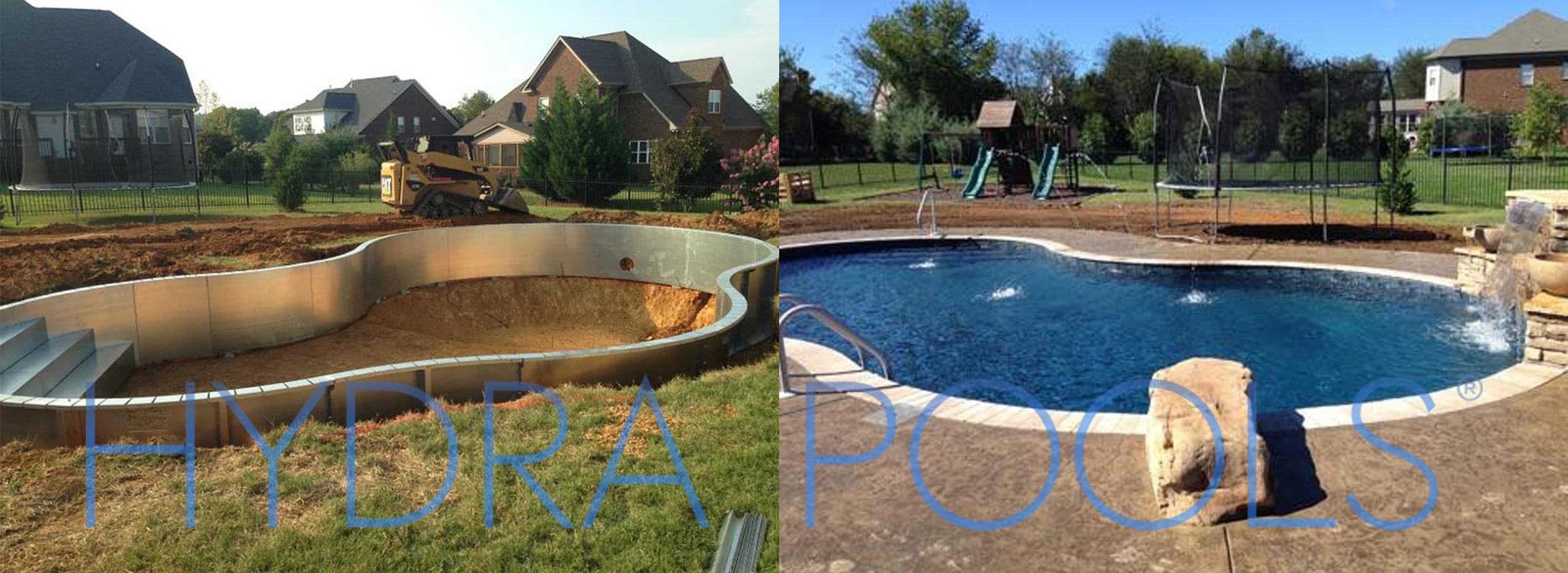 Inground Swimming Pools By Hydra Pools