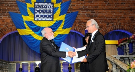 Water Heroes – Dr. Peter Morgan: 2013 Stockholm Water Prize Winner