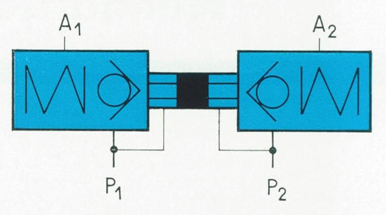 Orsta Hydraulik TGL 10973 -  Schaltzeichen Rückschlagventil