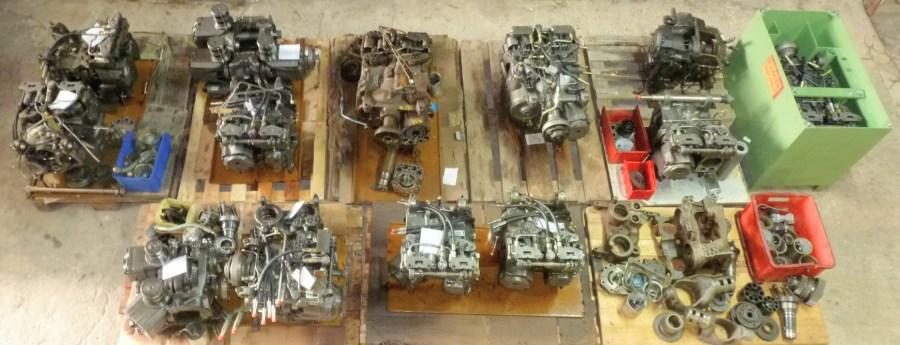Repair-gearbox-vario-fendt-massey
