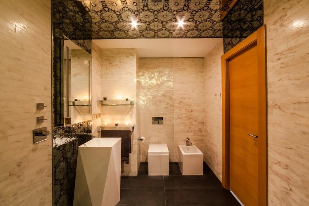 Bathroom in View of Le Meridien Hotel