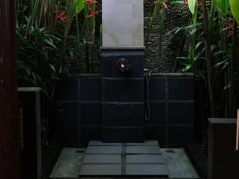 Outdoor bathrooms. Photo by Helen Varetska on Unsplash