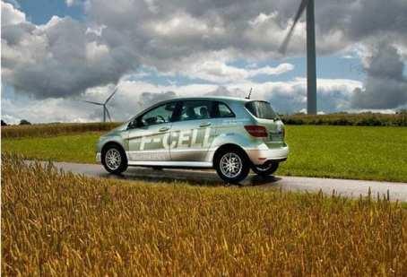 Mercedes-Benz Hydrogen Fuel Vehicles