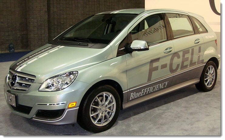 Mercedes-Benz B-Class F-Cell now available to the U.S. market