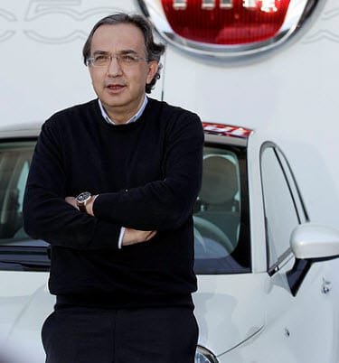 Chrysler CEO's take on hydrogen fuel's future