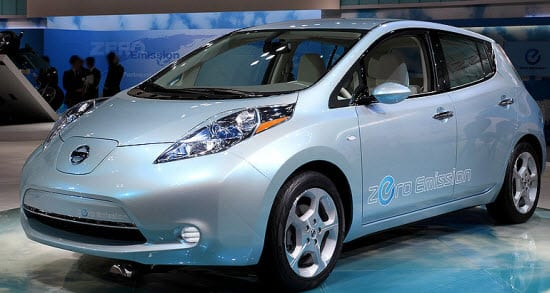 Nissan Leaf gets tied to attractive cash back deal