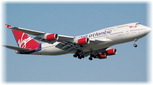 Virgin Atlantic to be powered by waste gas by 2014