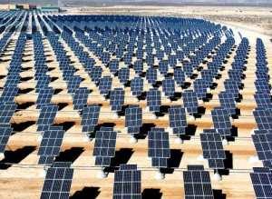Solar landfill - image of solar farm