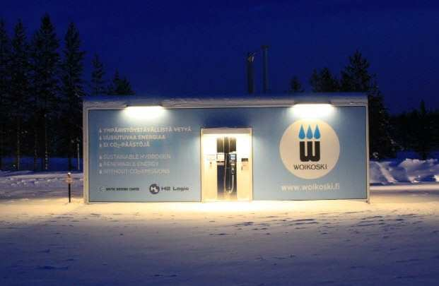 H2 Logic opens new, fast-filling hydrogen fuel station in the Arctic Circle