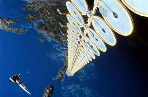 Leading alternative energy technology company has plans for a solar satellite